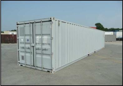 Obr. 1 Štandardný 40´ kontajner, zdroj: http://containertech.com/container-sales