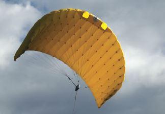 Obrázok 3 Padáková plachta (Kite) Zdroj: SkySails