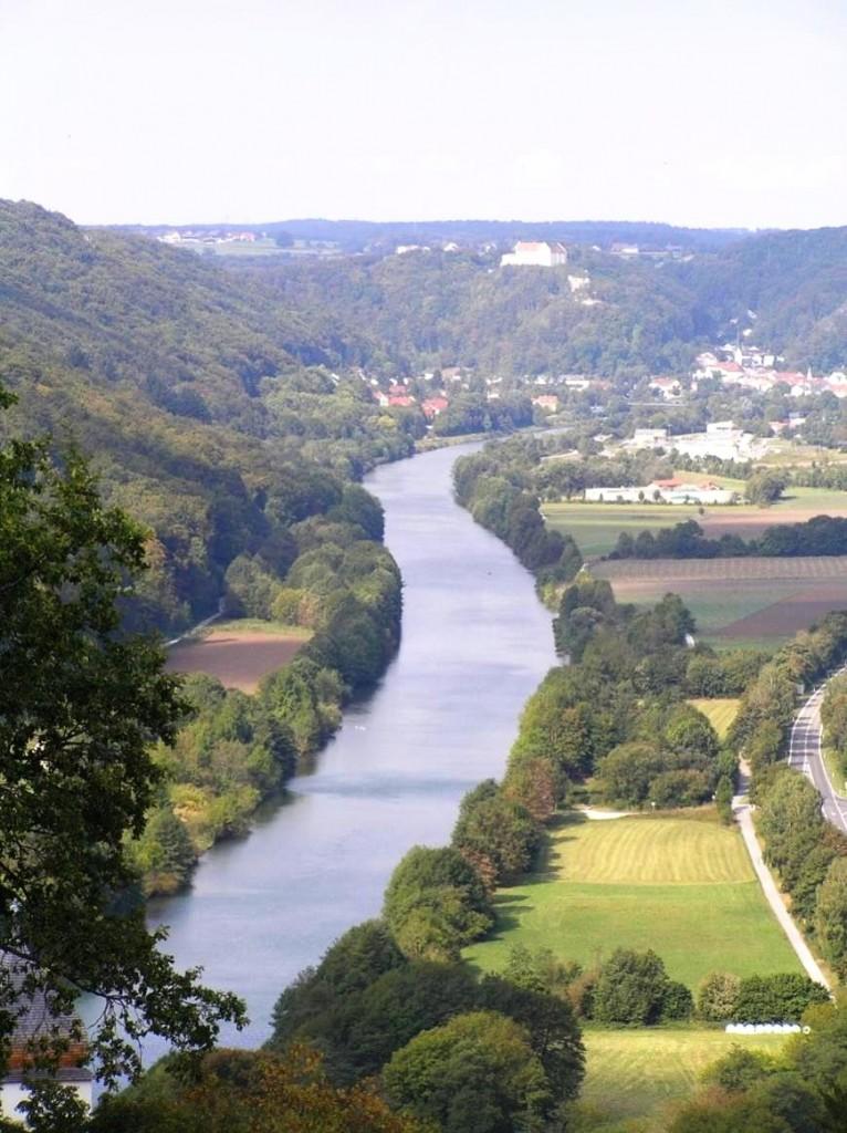 Obr. 1 Main-Donau Kanal v povodí rieky Altmühl zdroj: autori