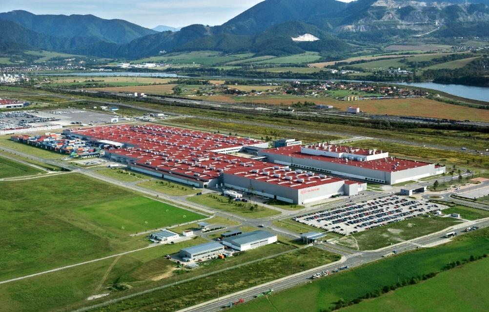Obr. 3 Závod KIA Motors Slovakia [http://www.kia.sk/]