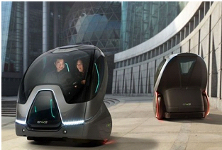 obr. 7. EN-V Concept – harmonizácia anorganických a organických tvarov Dizajn: GM Holden