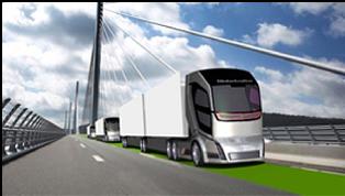 obr. 1. Volvo Concept Truck 2020, výrazne uplatnené kritérium bezpečnosti