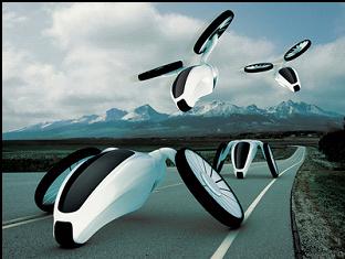 obr. 4. Hornet, hybrid využívajúci vedecké poznatky. Dizajn: Martin Gallo