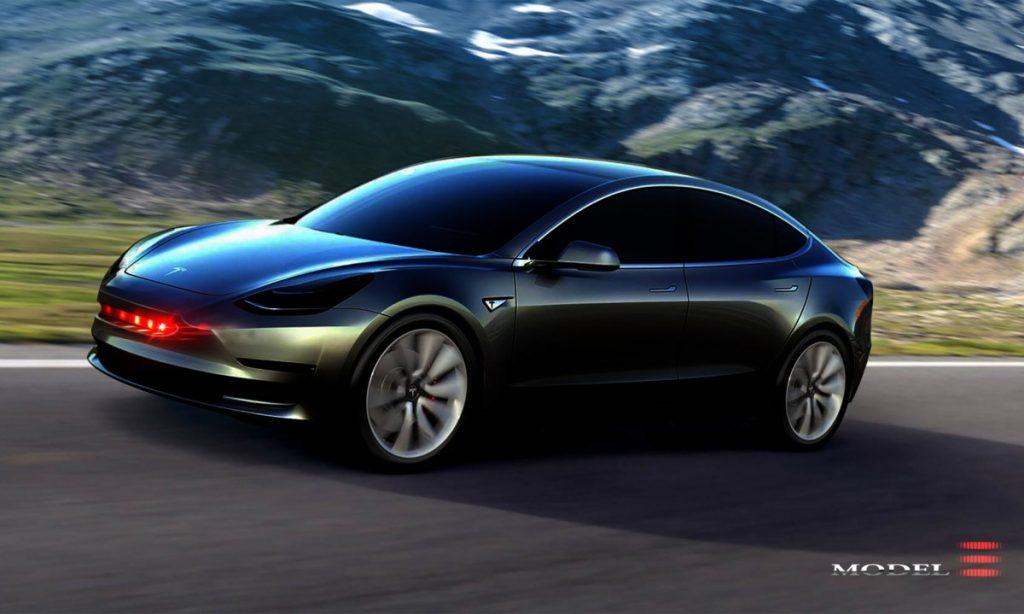 obr. 1 Tesla Model 3.