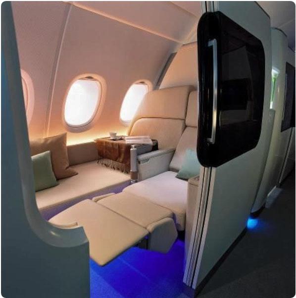 obr.6 štúdia sedadla Aerbus A 380