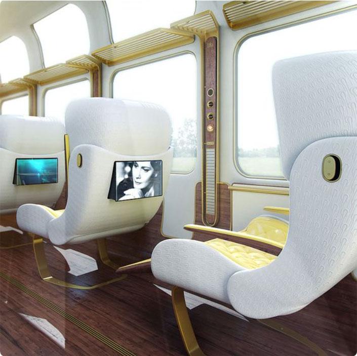 obr. 10 dizajn sedadiel Arch 20 Eurostar Interior