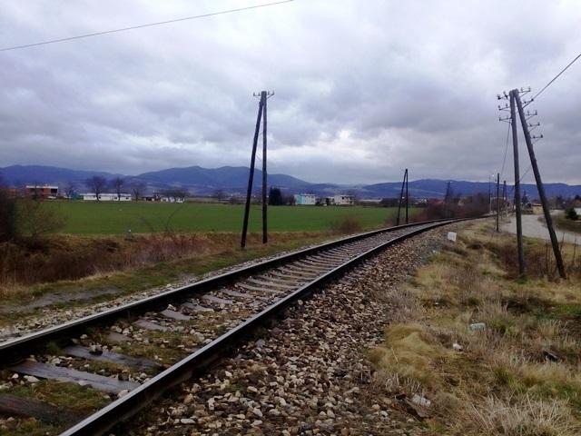 Obrázok 1: Súčasný obraz regionálnej trate s prevádzkovanou osobnosu dopravou na sieti ŽSR (zdroj: autor)