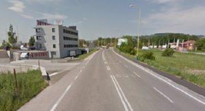 Medvid - Obr. 3. BUS pruh na Magnezitárskej ulici